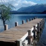 Peninsula al fondo, San Carlos de Bariloche