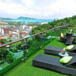 Emerald Patong 2 bedrooms Apartment with Terrace # 803, Patong Beach