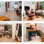 Romantic studio with private garden near the sea, Tel Aviv