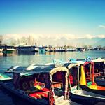 House boat by Ashoka,  Srinagar