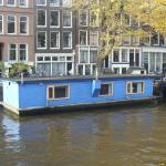 The Blue Houseboat, Amsterdam