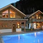 ホテル写真: Holiday home Wellness Hütten I, Oberlehn