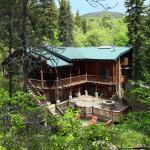 Log Cabin On The Stream,  Sundance