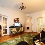 Apartments with Fireplace on Rynok Square, Lviv