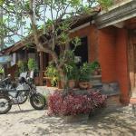 Halaman Depan Hostel,  Ubud