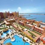 Sea view 2 bedroom chalet- Porto Marina,  El Alamein