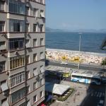 Copacabana Posto 6 - Vista Lateral da Praia, Rio de Janeiro