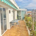 La terrasse Dalpozzo,  Nice