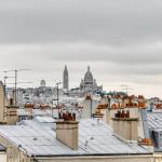 Squarebreak - Charming apartment overlooking Montmartre.,  Paris