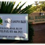 All Seasons B&B,  Durban