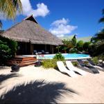 Pool and Beach House, Maharepa
