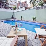 Apartment Barcelona Rentals - Gracia Pool Apartments Center, Barcelona