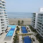 Morros Epic 625 1BR on the beach well designed, Cartagena de Indias
