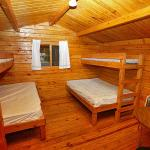 Arrowhead Camping Resort Cabin 1,  Douglas Center