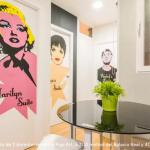 Pop-art apartment, Madrid