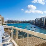 Seafront Apartment Spinola Bay, St Julians