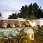 Luxury courtyard mono, Racale