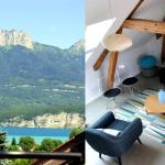 Hotel Pictures: Home Vigneronne 70m2 à 500m du lac, Sévrier