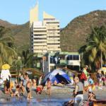 Rodadero apto espectacular 10 personas,  Puerto de Gaira
