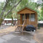 Russian River Camping Resort One-Bedroom Cabin 2, Cloverdale