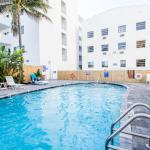Ocean walk apartments,  Miami Beach