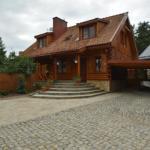 Mazury Drewniany Dom Malkinie k/Ełku, Małkinie