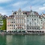 """Hotel Pickwick and Pub """"the room with a view"""", Luzern"""
