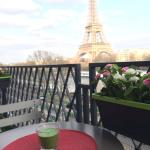 Tour Eiffel Trocadero Service Apartment, Paris