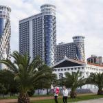 Black Sea Towers Sky, Batumi