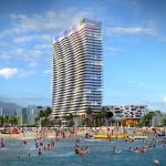 Apartments in ORBI Residence, Batumi