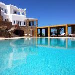 Villa Crystal Agios Sostis, città di Mykonos