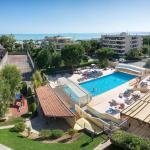 Studio de 30m2 dans residence hoteliere avec piscine,  Saint-Laurent-du-Var