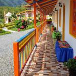 Hosteria El Paraiso,  Jardin