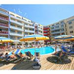 Apartment in Aparthotel Central Plaza, Sunny Beach