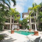 Luxury pool view beach access - M16,  Jacó