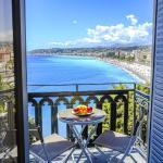 180° view on the Mediterranean Sea - Balcony, Nice