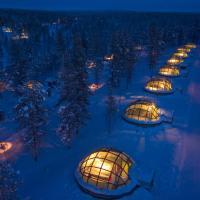Hotel Pictures: Kakslauttanen Arctic Resort - Igloos and Chalets, Saariselka