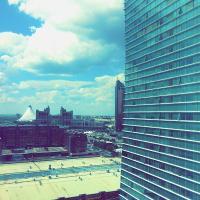 Hotelbilleder: Amasing apartment on Dostyk 5 str, Astana