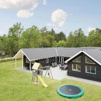 Hotel Pictures: Eight-Bedroom Holiday home Frederiksværk with a room Hot Tub 03, Melby