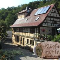 Hotelbilleder: Ferienwohnung Klüpfelsmühle, Schonungen