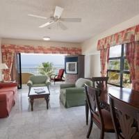 Executive Double Room with Two Double Beds and Sea View