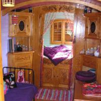 Wooden Caravan
