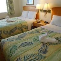 Standard Room with Two Double Beds - Ocean View