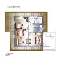 Two-Bedroom Apartment with Balcony and Terrace