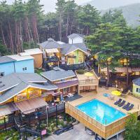 酒店图片: 横城郡魔法城堡度假屋, 横城