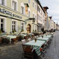 Hotelbilleder: Hotel & Gasthaus DAS RÖHRL Straubing, Straubing