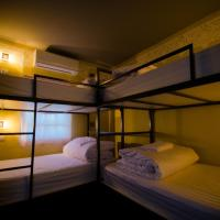 Bunk Bed in Dormitory Room with Shared Bathroom