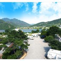 酒店图片: 北部河景旅行房车露营地, Namyangju