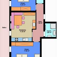Two-Bedroom Apartment 3