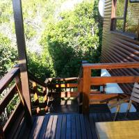Self catering  Chalet (1 and half bedroom) and Balcony